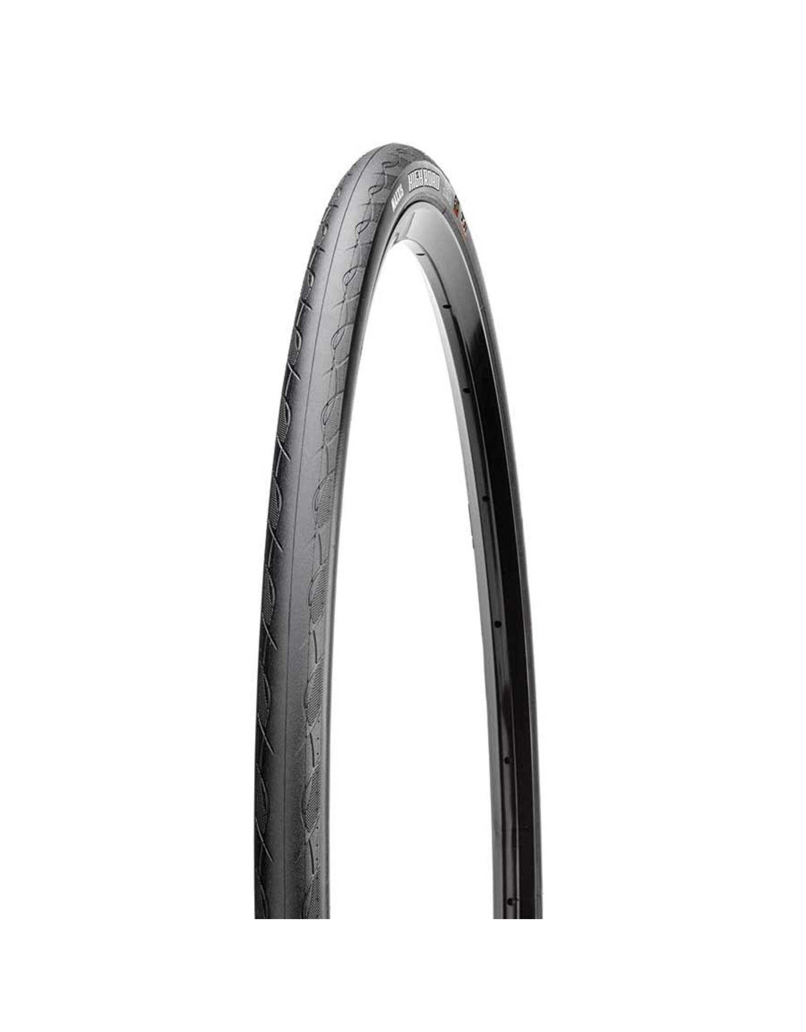 Maxxis Maxxis, High Road, Tire, 700x28C, Folding, Tubeless Ready, Single, 170TPI, Black
