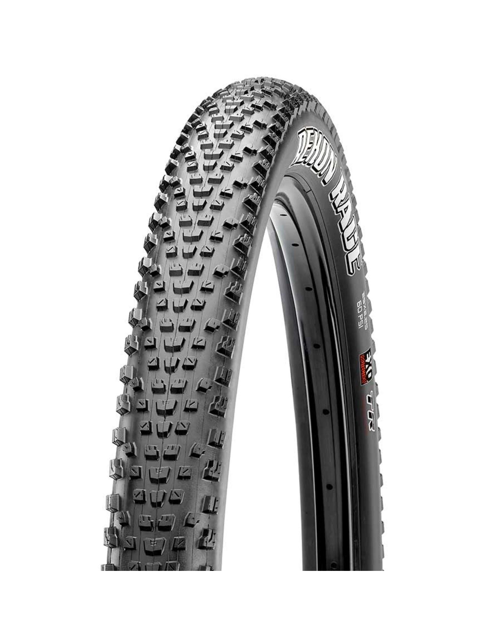 Maxxis, Rekon Race, Tire, 29''x2.35, Folding, Tubeless Ready, Dual, EXO, 120TPI, Black