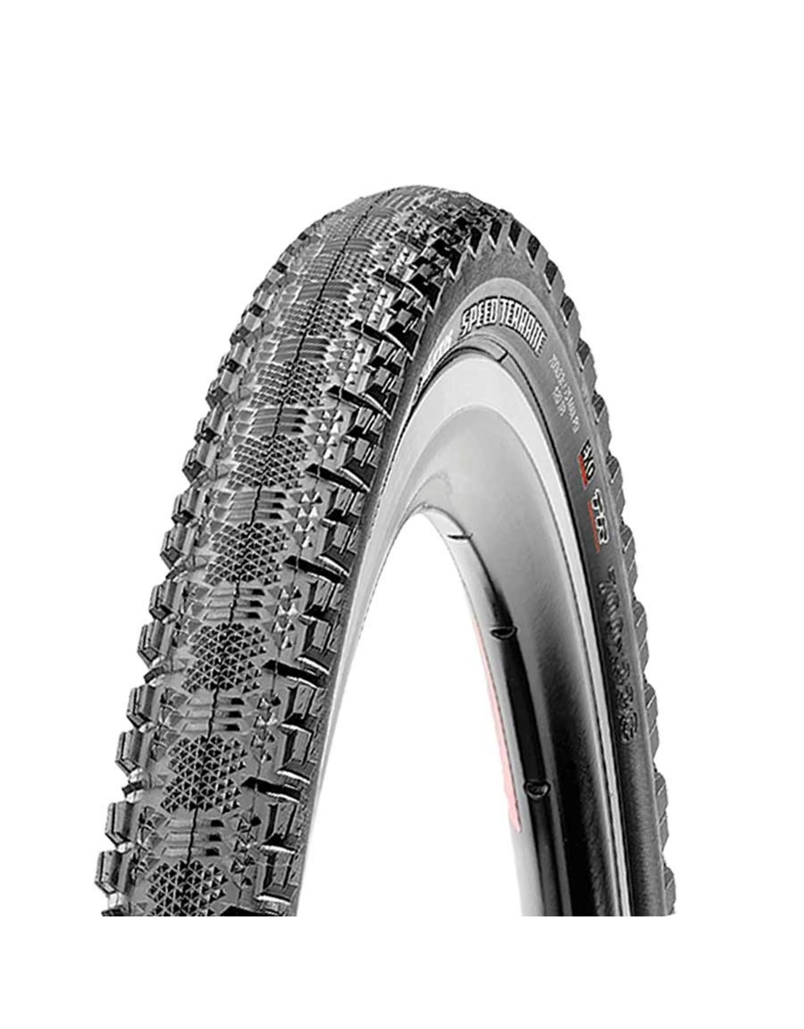 Maxxis Maxxis, Speed Terrane, Tire, 700x33C, Folding, Tubeless Ready, Dual, EXO, 120TPI, Black