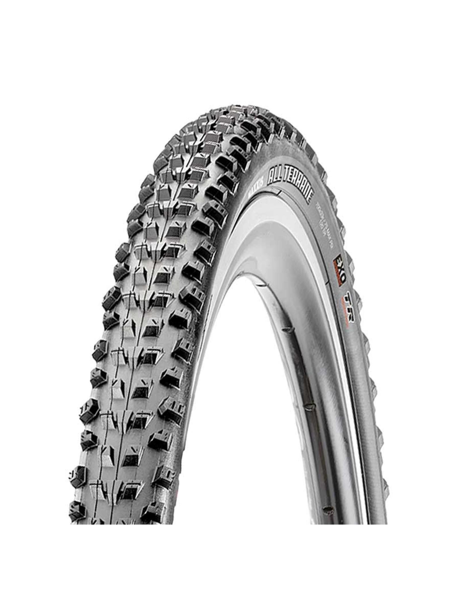 Maxxis, All Terrane, Tire, 700x33C, Folding, Tubeless Ready, Dual, EXO, 120TPI, Black