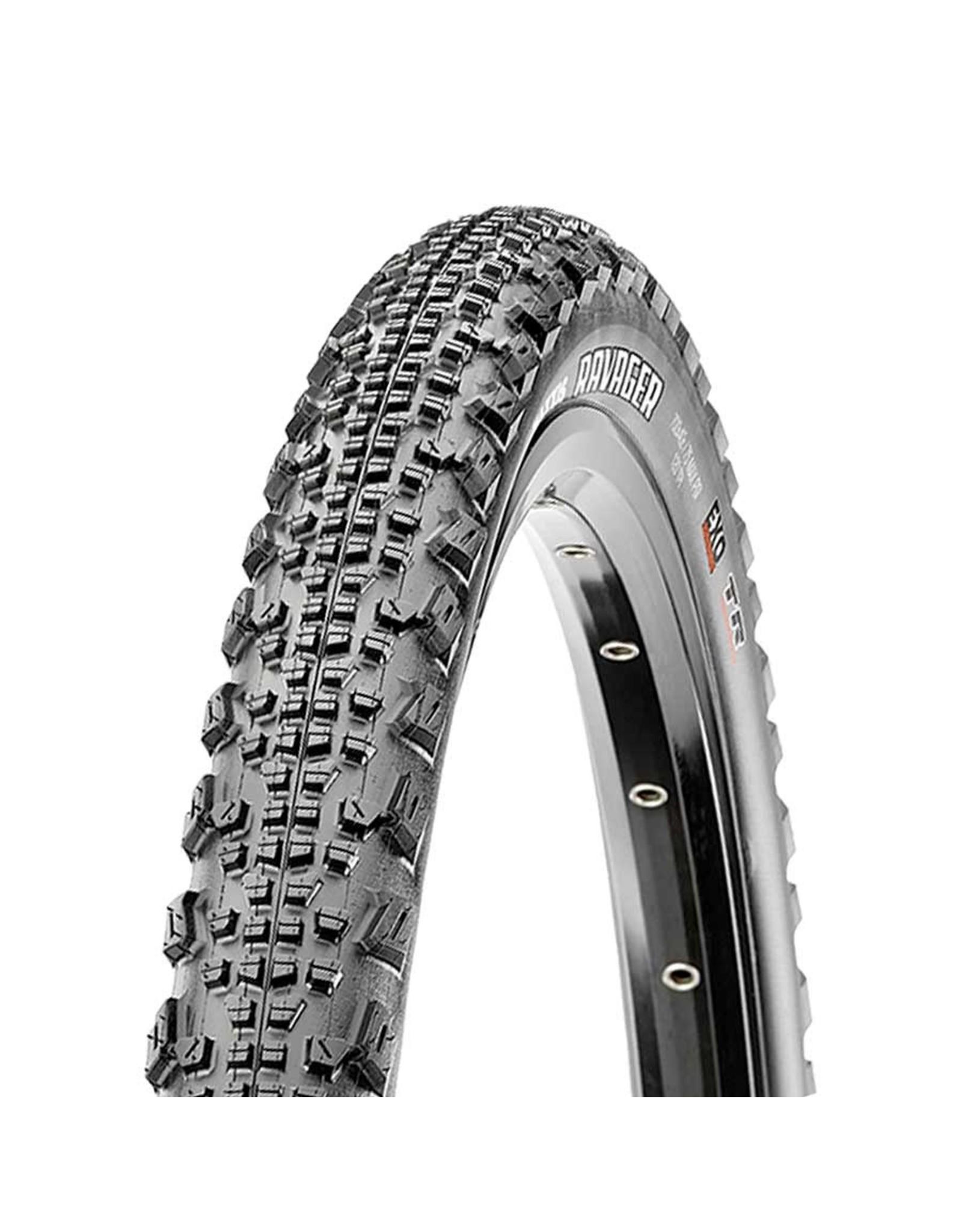 Maxxis Maxxis, Ravager, Tire, 700x40C, Folding, Tubeless Ready, Dual, EXO, 120TPI, Black