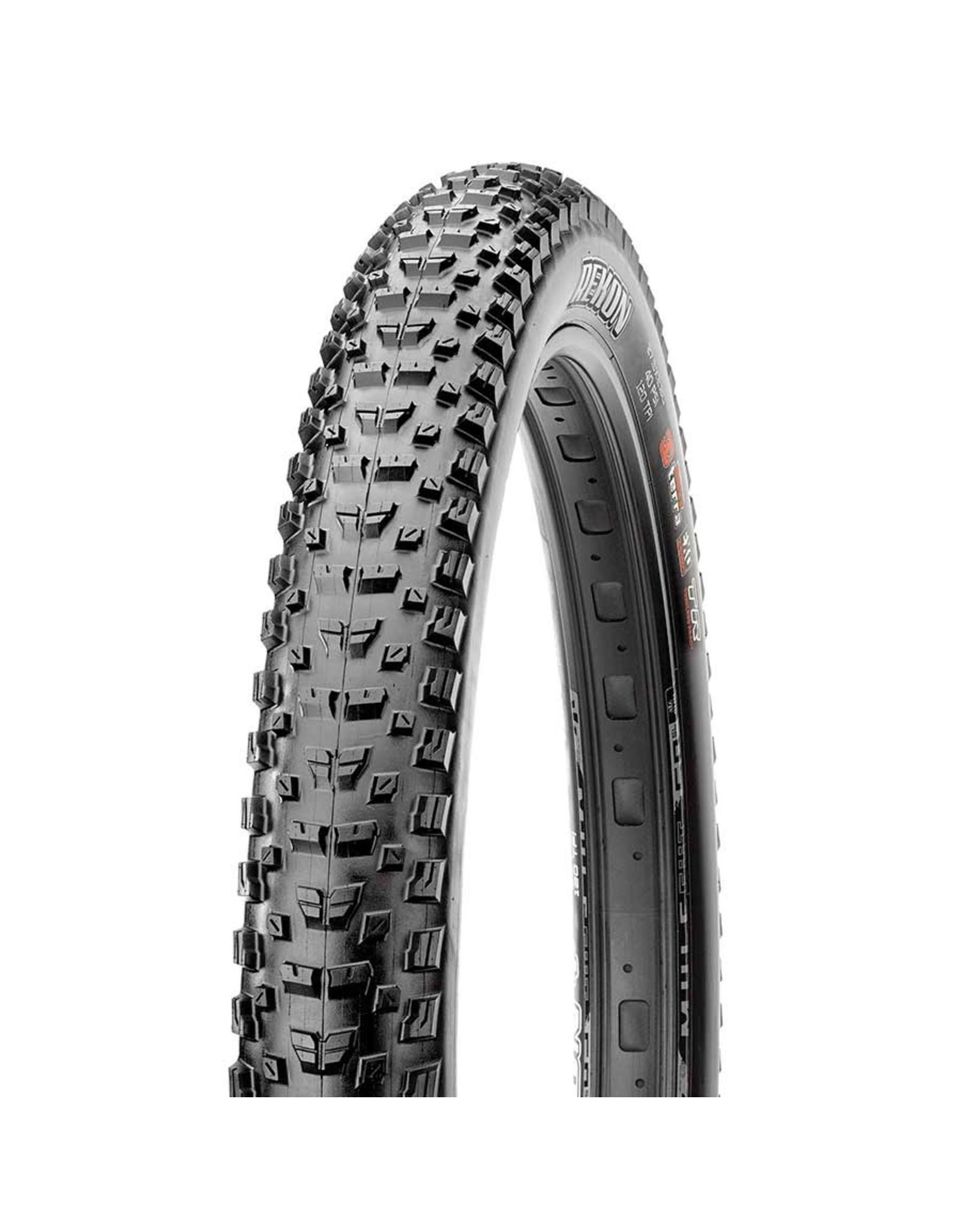 Maxxis Maxxis, Rekon, Tire, 27.5''x2.60, Folding, Tubeless Ready, Dual, EXO, 60TPI, Black