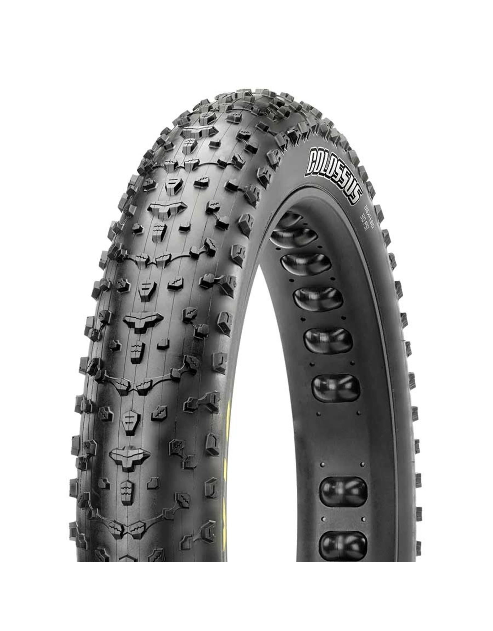Maxxis, Colossus, Tire, 27.5''x4.50, Folding, Tubeless Ready, Dual, EXO, 120TPI, Black