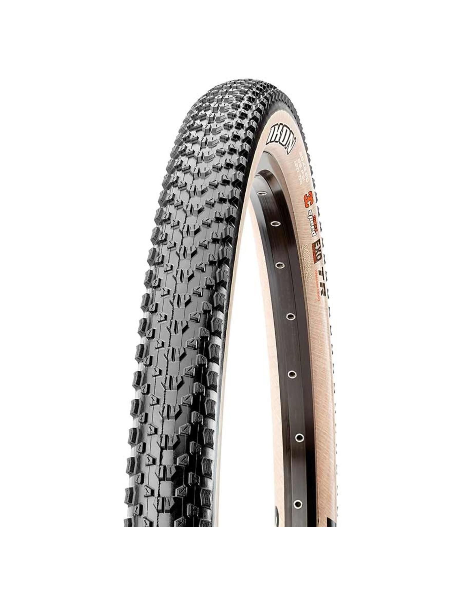 Maxxis Maxxis, Ikon, Tire, 29''x2.20, Folding, Tubeless Ready, 3C Maxx Speed, EXO, 60TPI, Beige