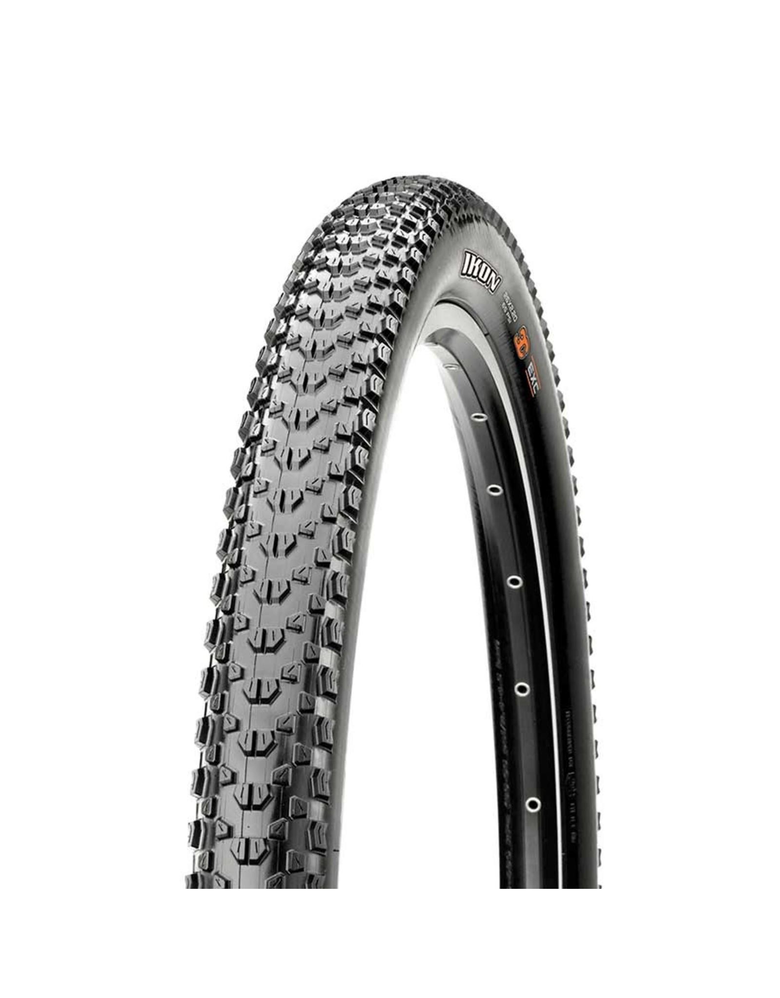 Maxxis, Ikon, Tire, 26''x2.20, Folding, Tubeless Ready, 3C Maxx Speed, EXO, 120TPI, Black