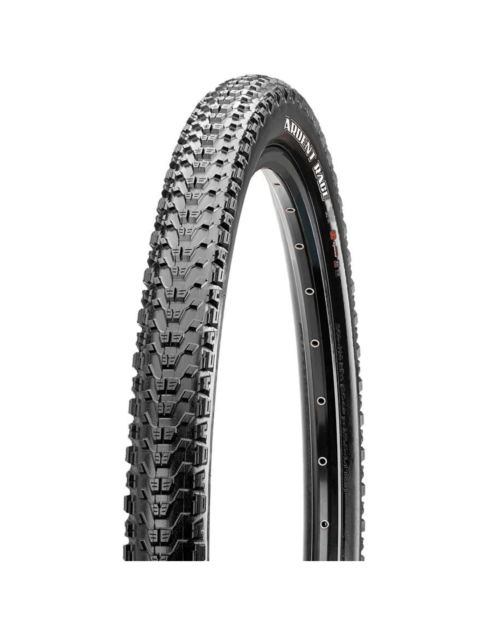 Maxxis Maxxis, Ardent Race, Tire, 27.5''x2.60, Folding, Tubeless Ready, 3C Maxx Speed, EXO, 120TPI, Black