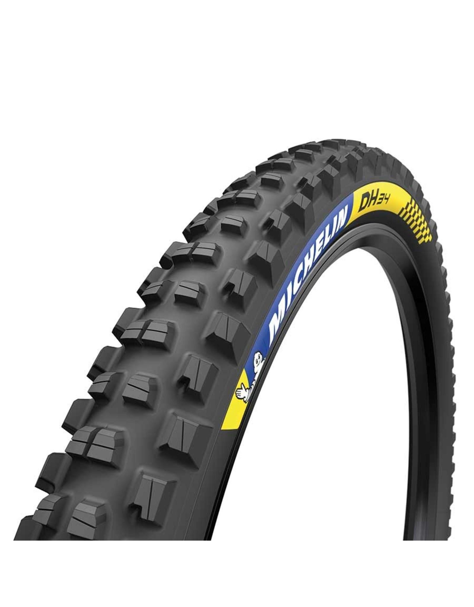 Michelin Michelin, DH34, Tire, 27.5''x2.40, Wire, Tubeless Ready, MAGI-X, Downhill Shield, 2x55TPI, Black
