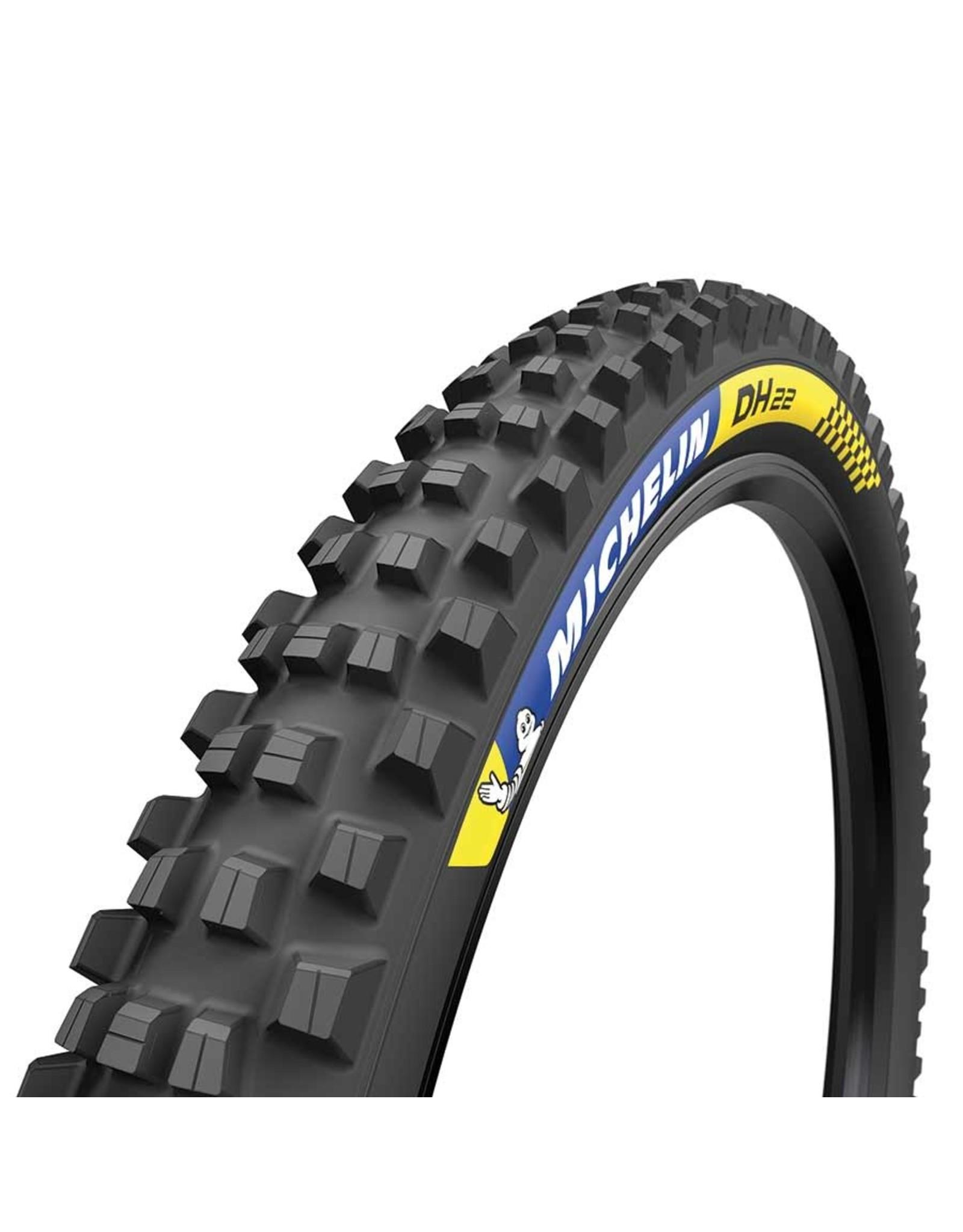 Michelin, DH22, Tire, 27.5''x2.40, Wire, Tubeless Ready, MAGI-X, Downhill Shield, 2x55TPI, Black