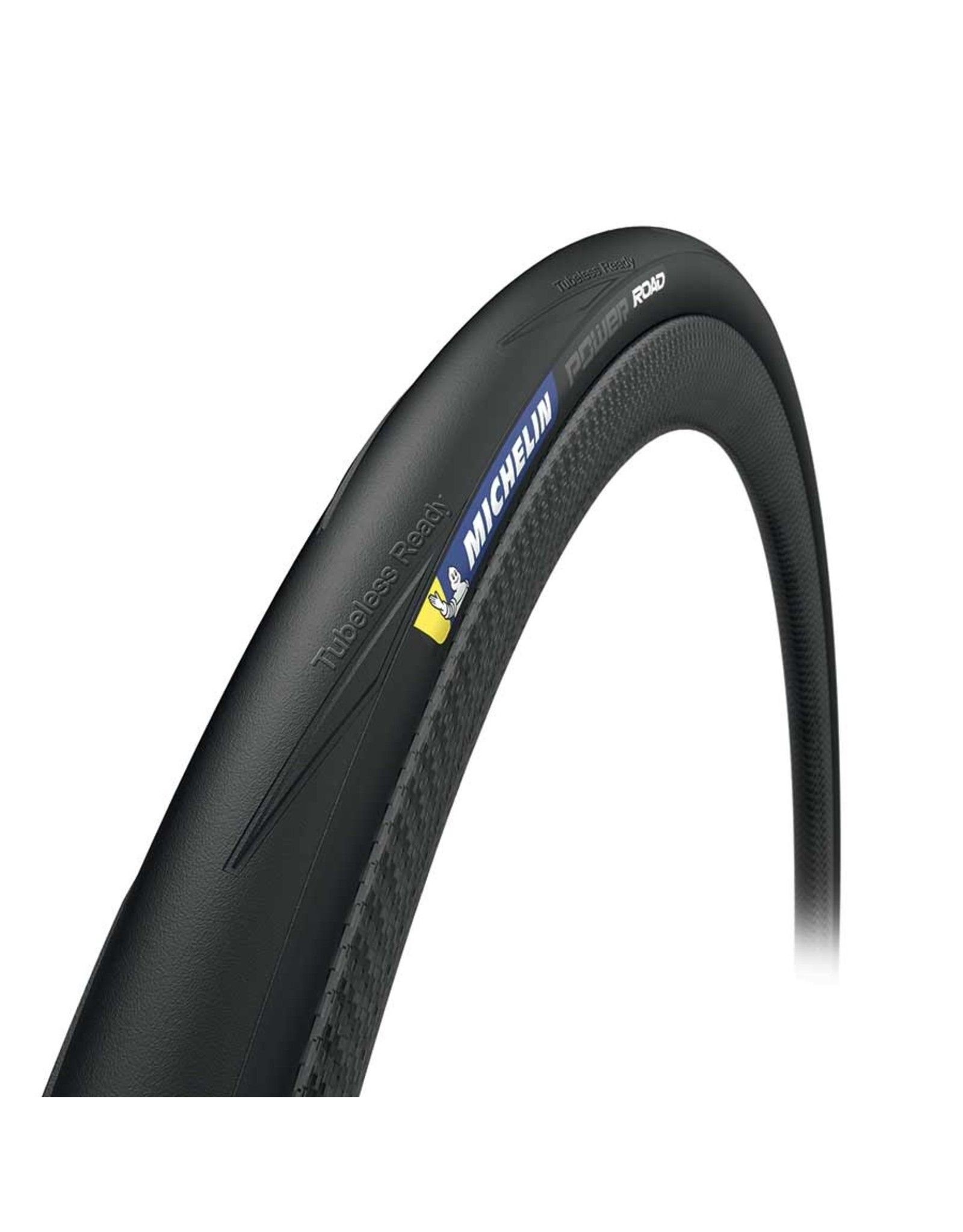 Michelin Michelin, Power Road TLR, Tire, 700x28C, Folding, Tubeless Ready, X-Race, 4x120TPI, Black