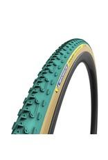 Michelin, Power Cyclocross Jet Tubular, Tire, 700x33C, Folding, Tubular, GreenCompound, 3x120TPI, Green