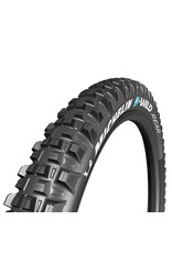 Michelin Michelin, E-Wild Rear, Tire, 27.5''x2.60, Folding, Tubeless Ready, E-GUM-X, GravityShield, 3x60TPI, Black
