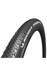 Michelin Michelin, Power Gravel, Tire, 700x33C, Folding, Tubeless Ready, X-Miles, Bead2Bead Protek, 3x120TPI, Black
