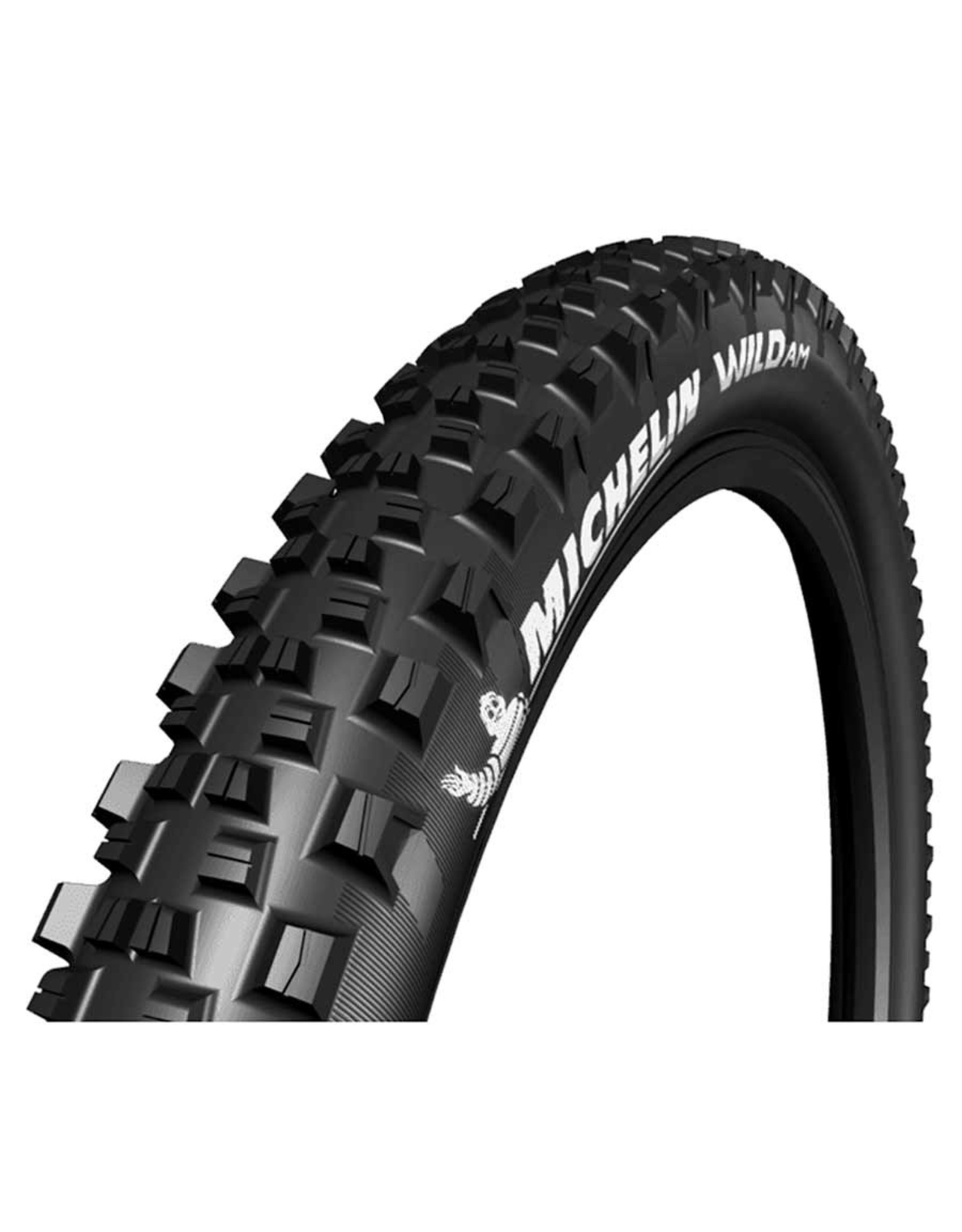 Michelin, Wild AM Comp, Tire, 27.5''x2.60, Folding, Tubeless Ready, GUM-X, 60TPI, Black