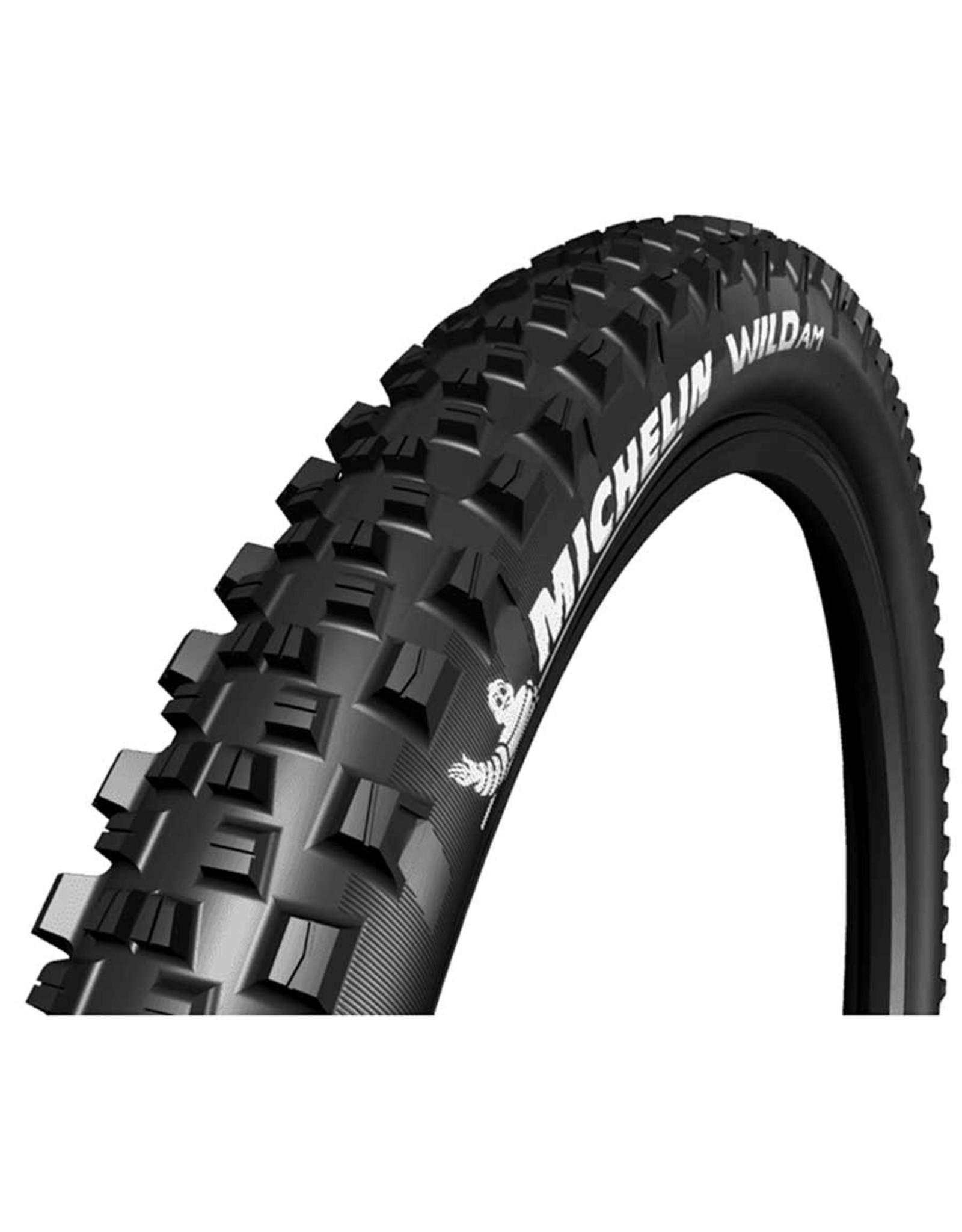 Michelin, Wild AM Comp, Tire, 29''x2.35, Folding, Tubeless Ready, GUM-X, 60TPI, Black