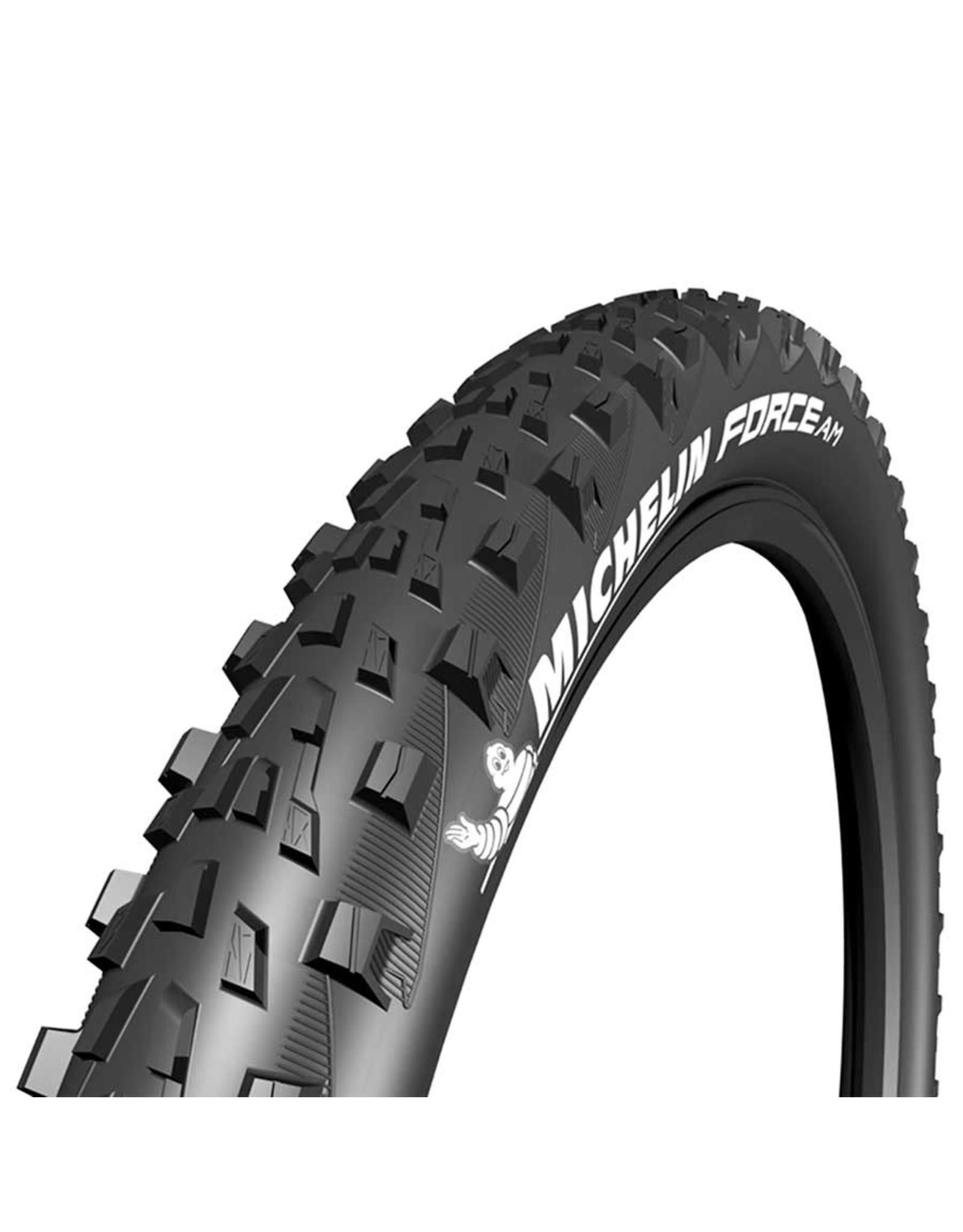 Michelin Michelin, Force AM Comp, Tire, 27.5''x2.60, Folding, Tubeless Ready, GUM-X, 60TPI, Black