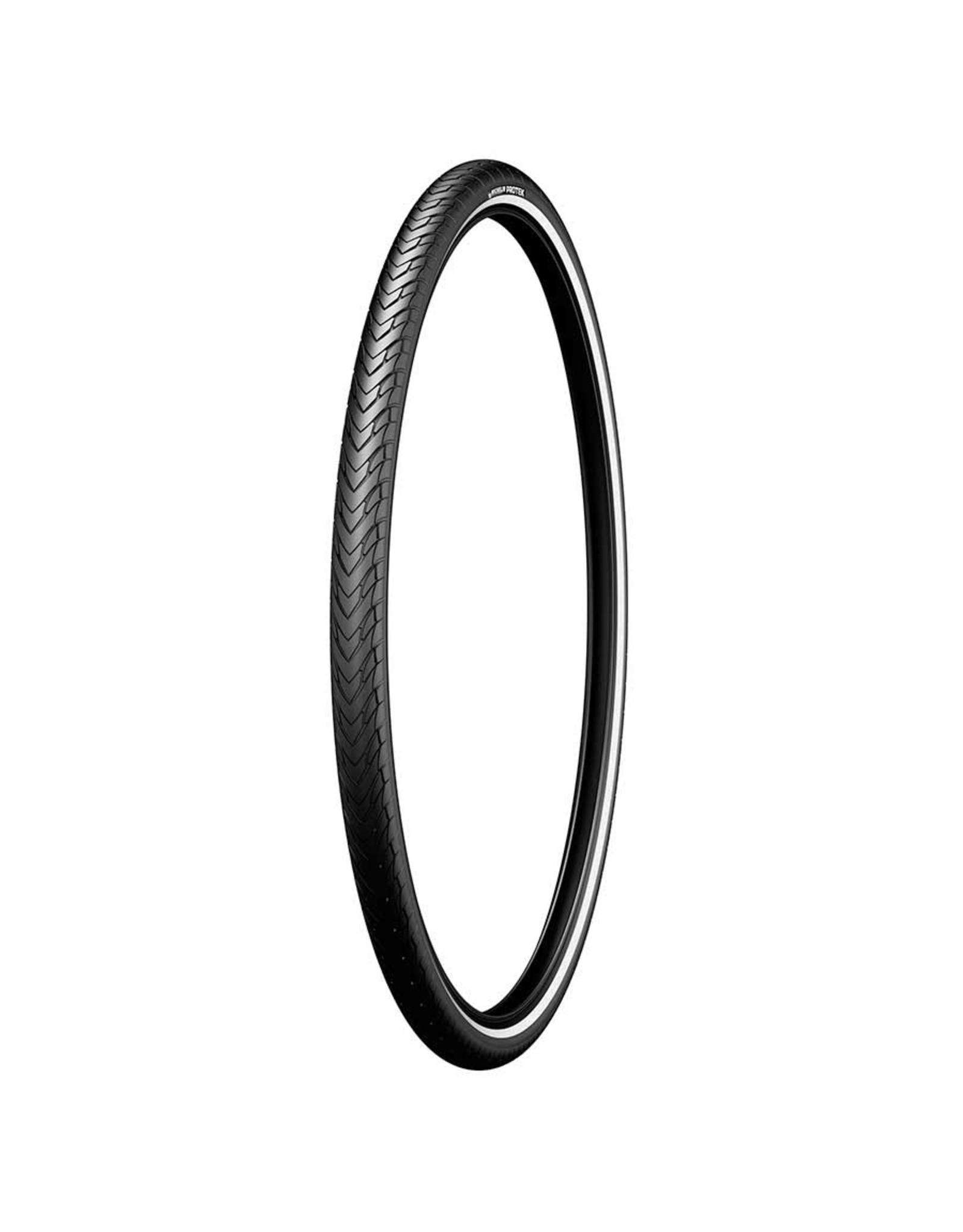 Michelin Michelin, Protek, Tire, 26''x1.40, Wire, Clincher, Protek 1mm, Reflex, 22TPI, Black