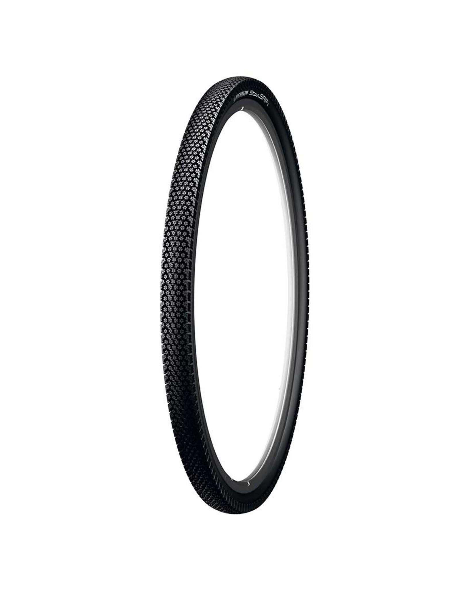 Michelin, Stargrip, Tire, 700x35C, Wire, Clincher, Winter, Nylon HD, 22TPI, Black