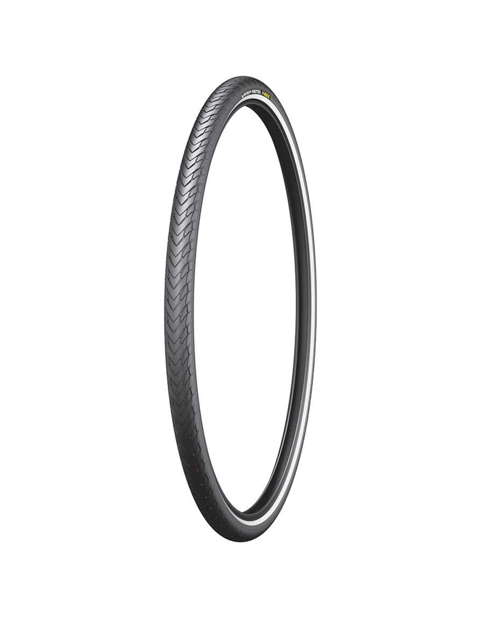 Michelin, Protek Max, Tire, 700x35C, Wire, Clincher, Protek 5mm, Reflex, 22TPI, Black