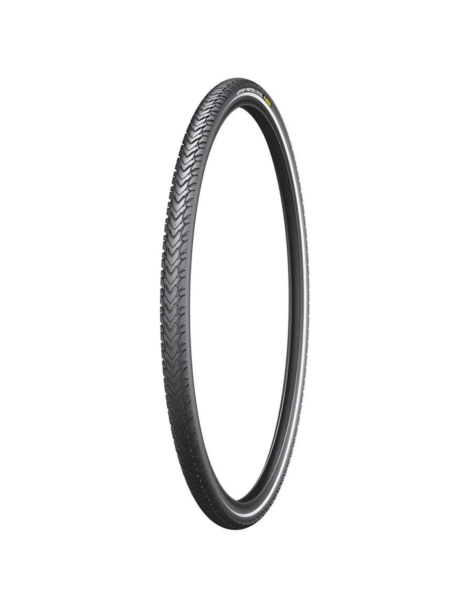Michelin, Protek Cross Max, Tire, 700x35C, Wire, Clincher, Protek 5mm, Reflex, 22TPI, Black