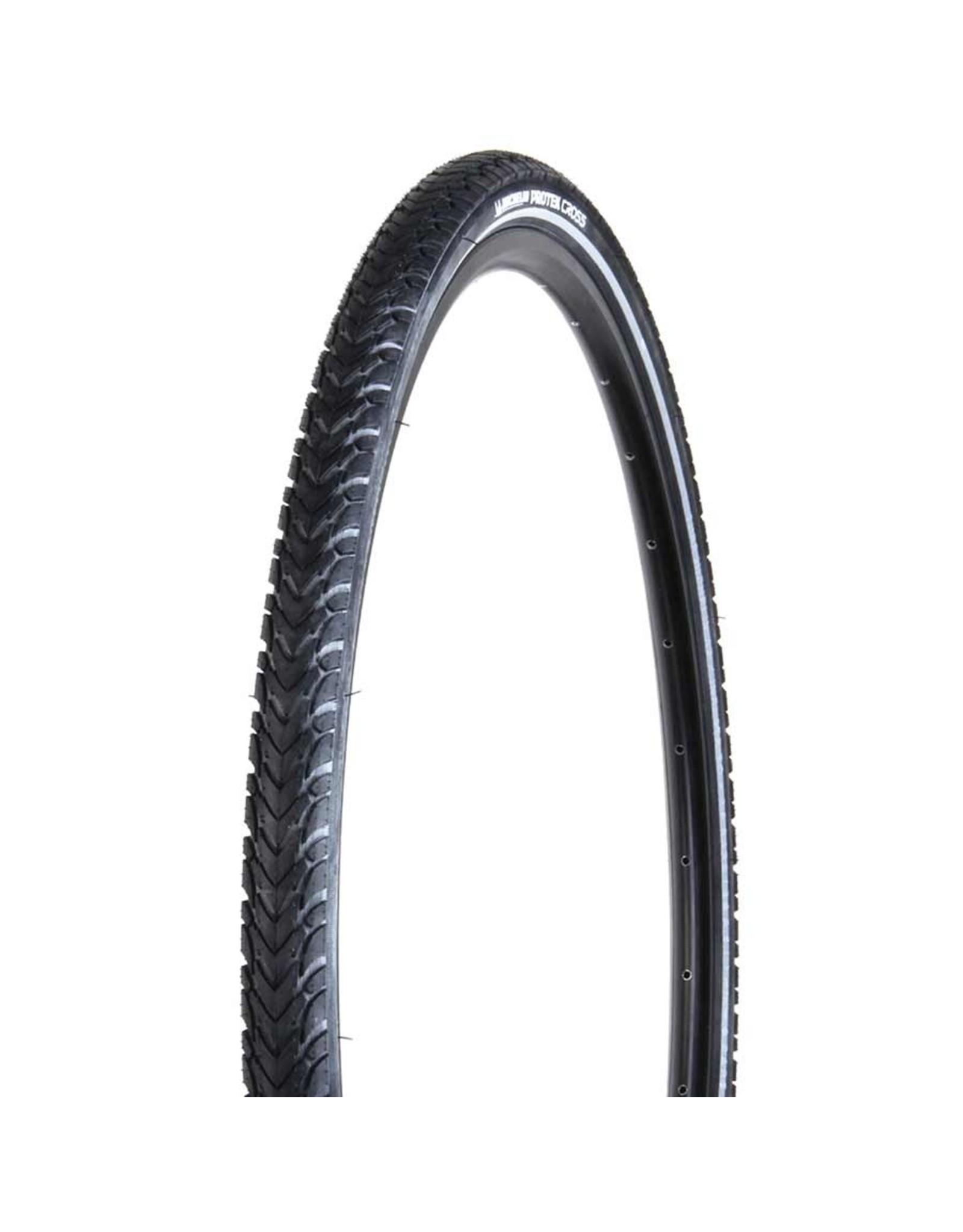 Michelin Michelin, Protek Cross, Tire, 700x47C, Wire, Clincher, Single, Protek 1mm, Reflex, 22TPI, Black