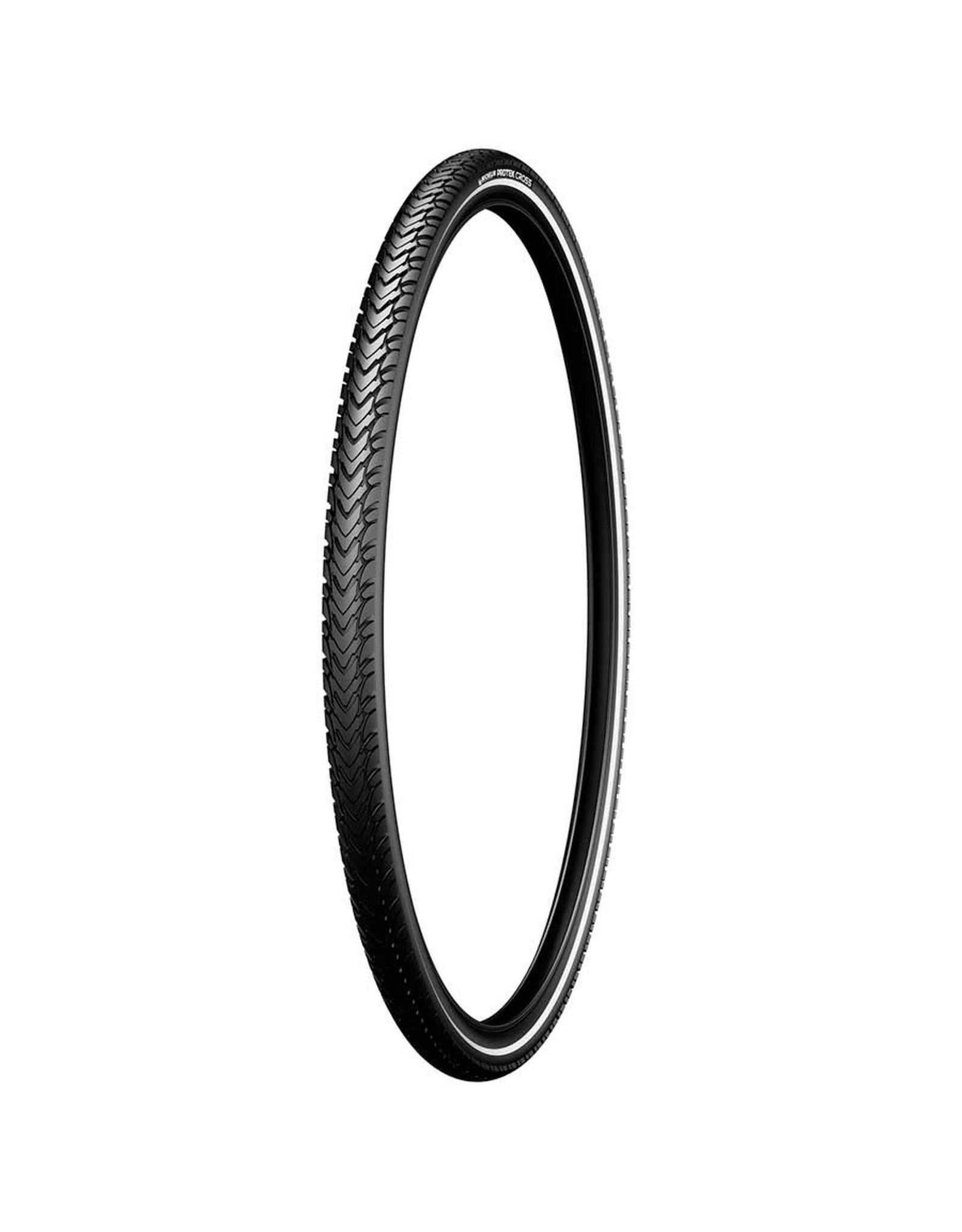 Michelin Michelin, Protek Cross, Tire, 700x35C, Wire, Clincher, Protek 1mm, Reflex, 22TPI, Black