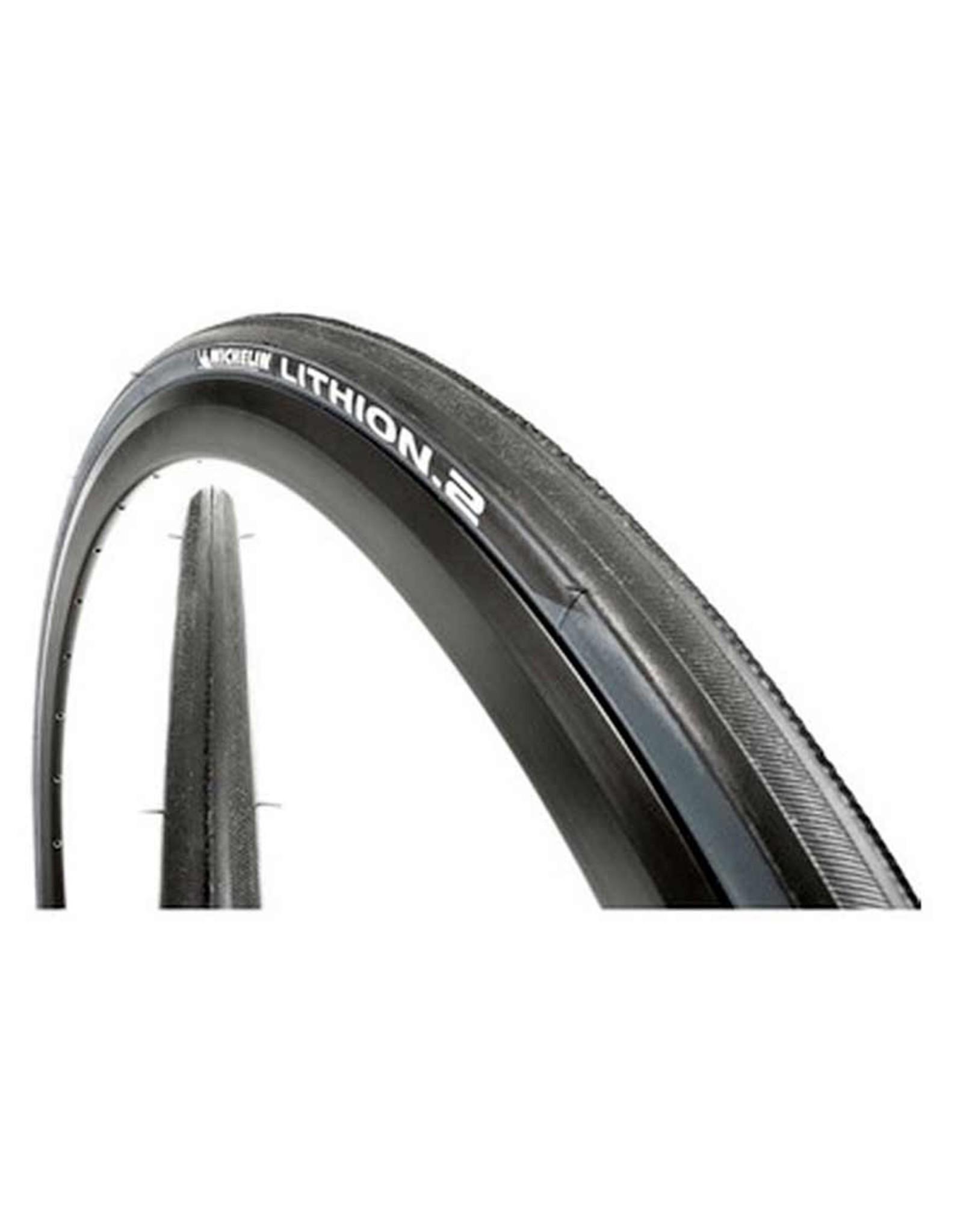 Michelin Michelin, Lithion 2, Tire, 700x23C, Folding, Clincher, Silica, 60TPI, Grey