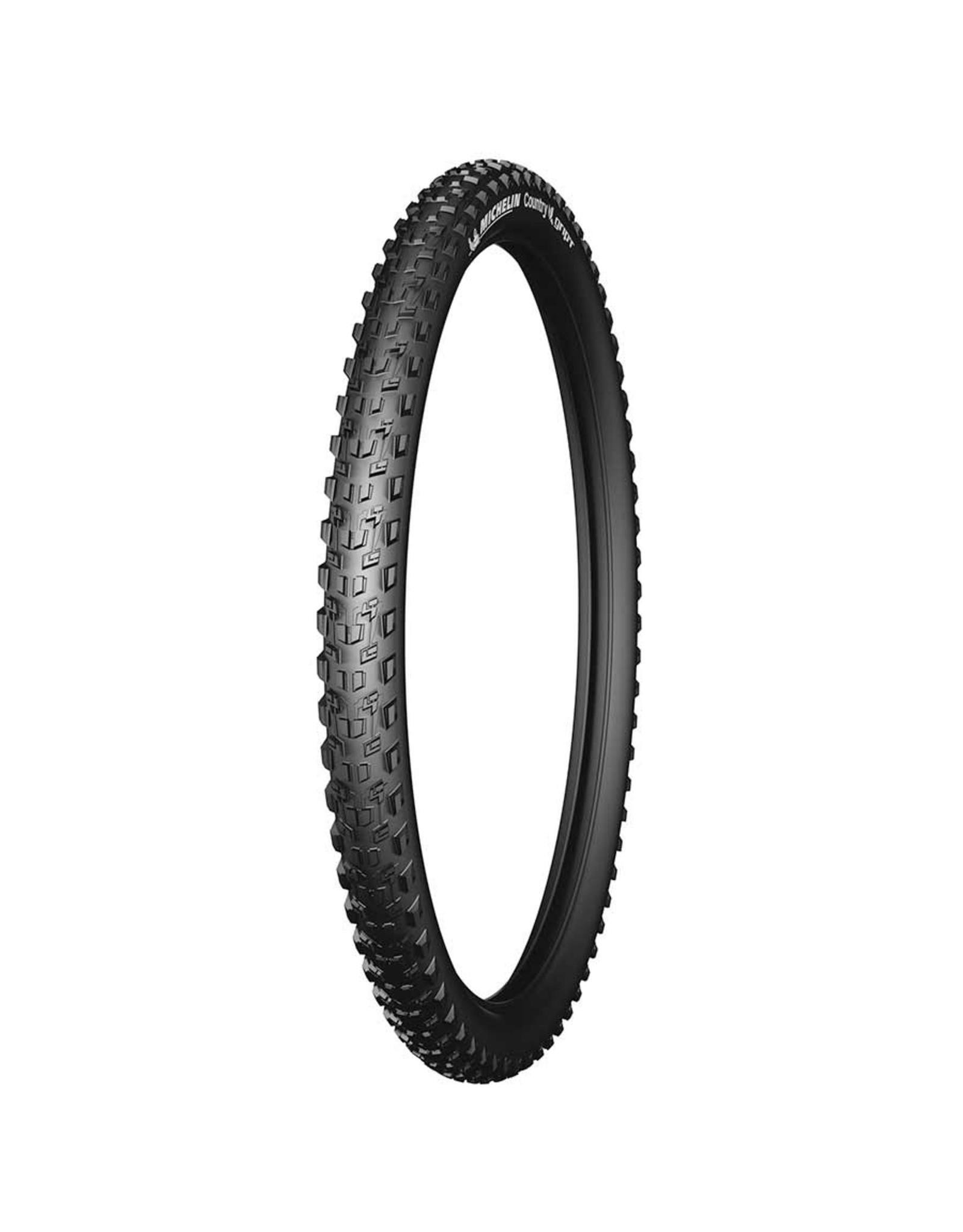 Michelin, Country Grip'R, Tire, 26''x2.10, Wire, Clincher, 30TPI, Black