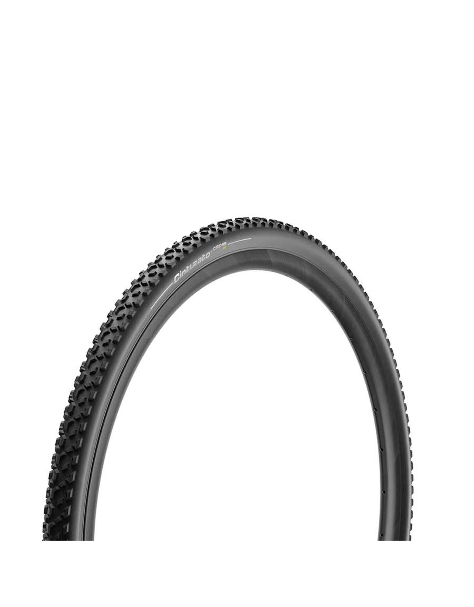 Pirelli, Cinturato Cross M, Tire, 700x33C, Folding, Tubeless Ready, SpeedGrip, 127TPI, Black