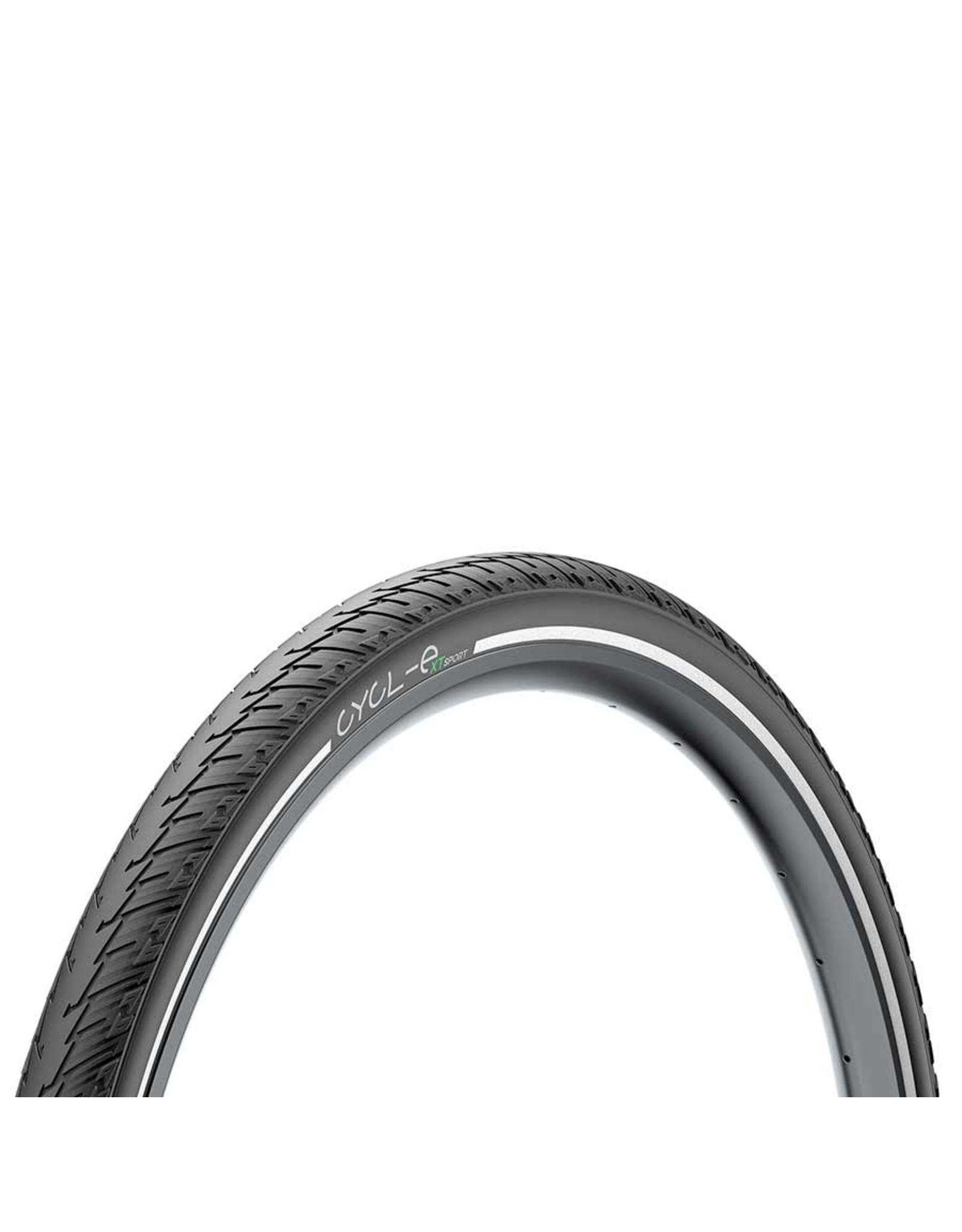 Pirelli Pirelli, Cycl-e XTs, Tire, 700x45C, Wire, Clincher, Black