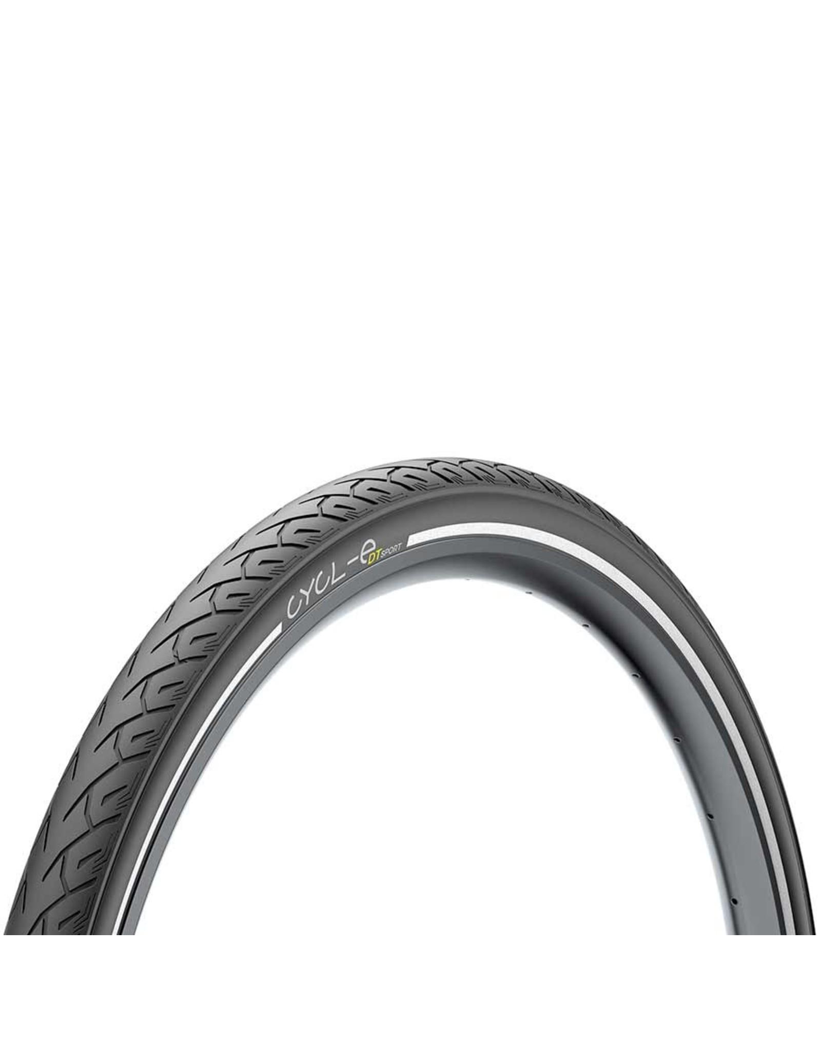 Pirelli, Cycl-e DTs, Tire, 700x35C, Wire, Clincher, Black