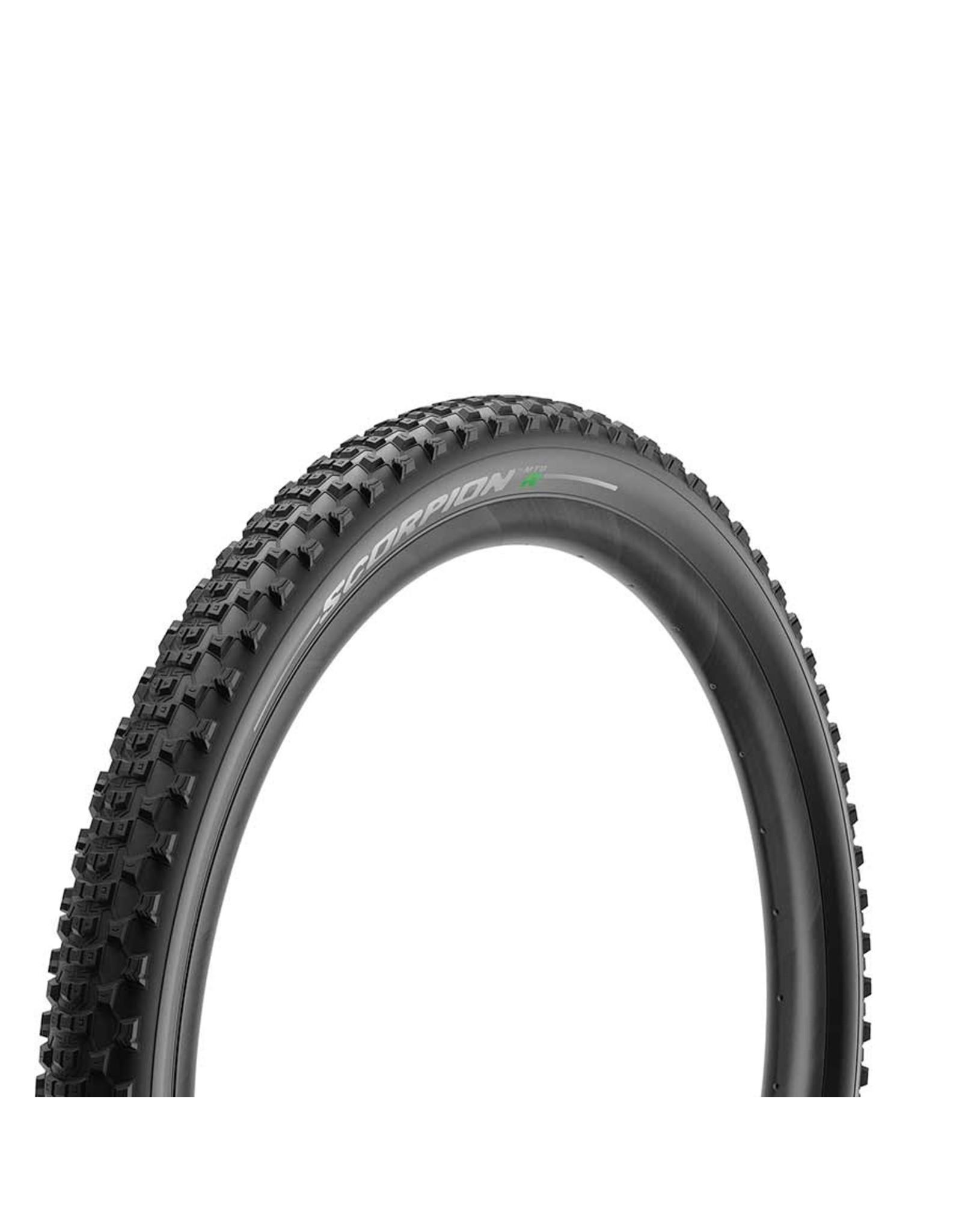 Pirelli, Scorpion MTB R, Tire, 27.5x2.4, Folding, Tubeless Ready, Smartgrip, Hyperwall, 127TPI, Black