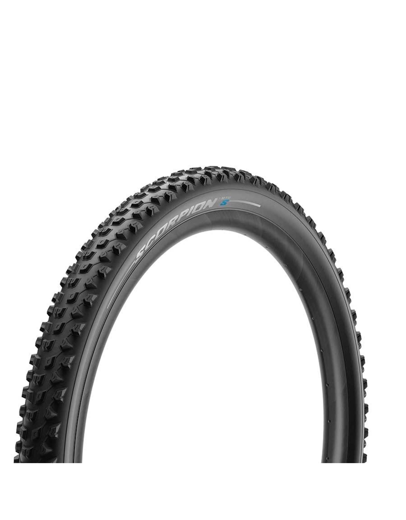 Pirelli, Scorpion MTB S, Tire, 29''x2.40, Folding, Tubeless Ready, Smartgrip, 60TPI, Black