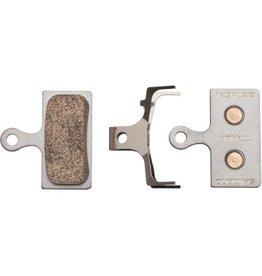 Shimano, G02S G-Type, Disc Brake Pads, Shape: Shimano G-Type/F-Type/J-Type, Resin, Pair, Y8WW98020