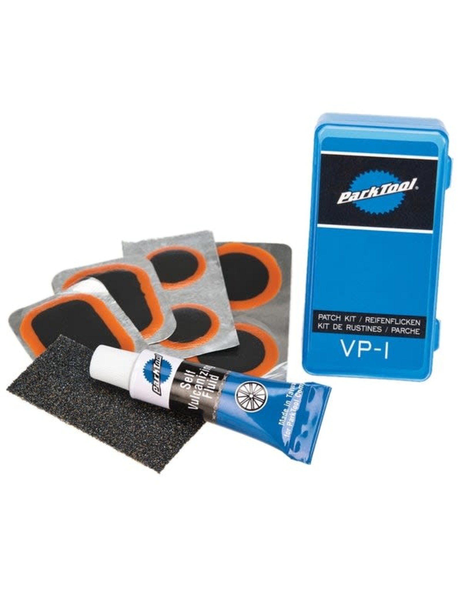 Park Tool Park Tool, VP-1, Vulcanizing patch kit, single