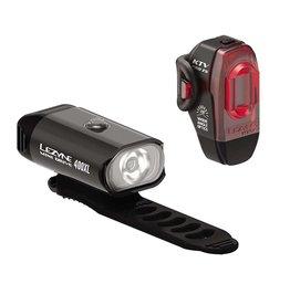 Lezyne, Mini Drive 400 / KTV Pro, Light, Set, Black