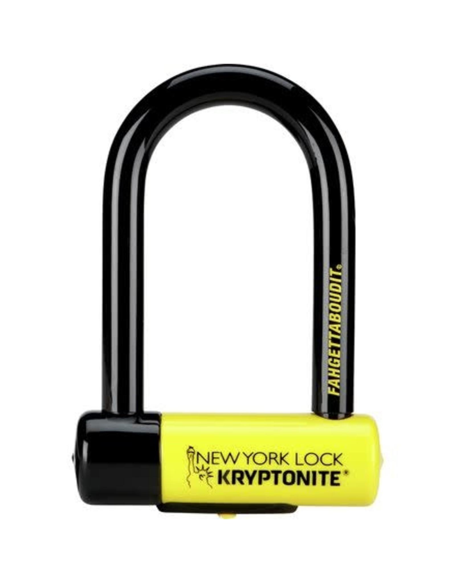 Kryptonite NEW YORK FAHGETTABOUDIT U LOCK