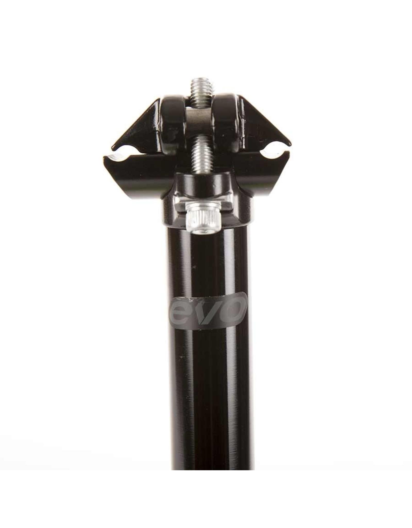 EVO, E-Force Zero, Seatpost, Black, 31.6mm