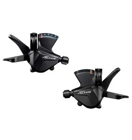 Shimano Shimano, Altus SL-M2010, Trigger Shifter, Speed: 3x9, Combination: No, Black, Set