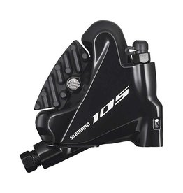 Shimano Shimano, 105 BR-R7070, Road Hydraulic Disc Brake, Rear, Flat mount, Not included, 147g, Black