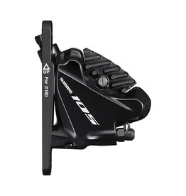 Shimano Shimano, 105 BR-R7070, Road Hydraulic Disc Brake, Front, Flat mount, Not included, 147g, Black
