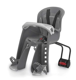 Bilby JR FF, Front baby seat, Rear bracket, Grey/Silver