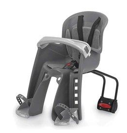 Polisport Bilby JR FF, Front baby seat, Rear bracket, Grey/Silver