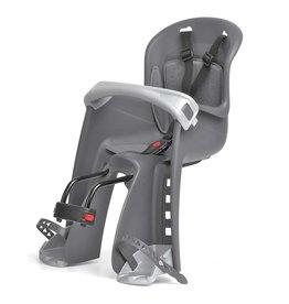 Polisport Bilby JR, Front baby seat, Front bracket, Grey/Silver