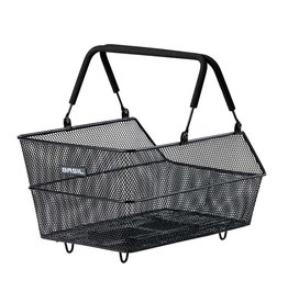 Basil Basil, Cento, Basket, Rear, 39x24x21 cm, Black