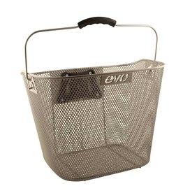EVO EVO, E-Cargo QR Mesh Traveler, Basket, Silver