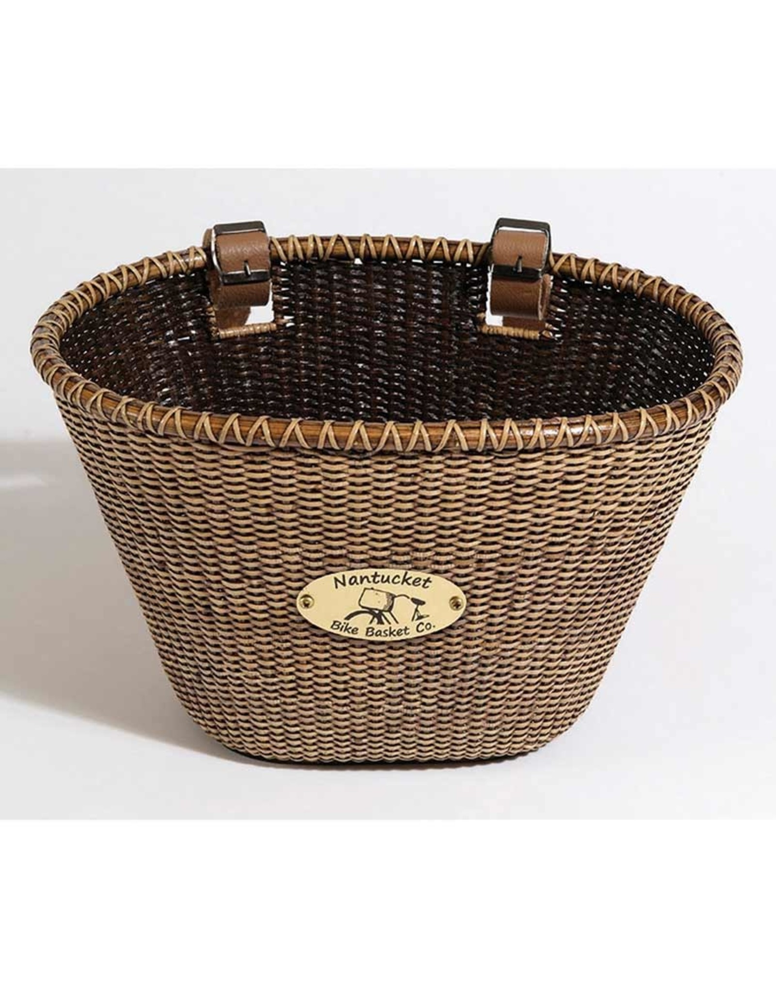 Nantucket Nantucket, Ligthship, Oval basket, 14''x10''x8.5'', Stained