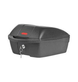 Polisport, Top Case, Basket, Rear, 538x393x439 mm, Black