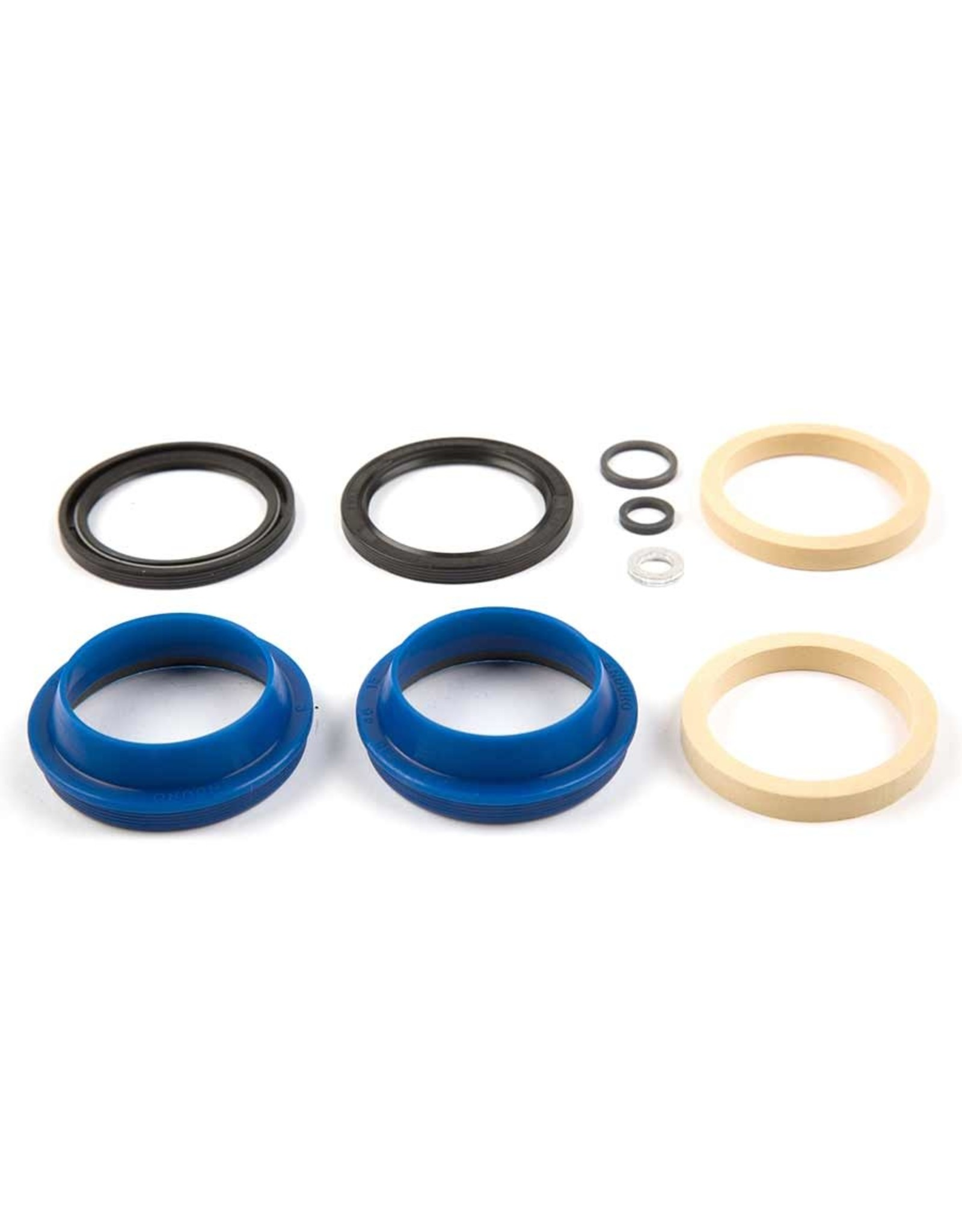 Enduro Enduro, Fox fork seal kit, 36mm, Includes Wipers, Seals, Foam Rings, And Crush Washers