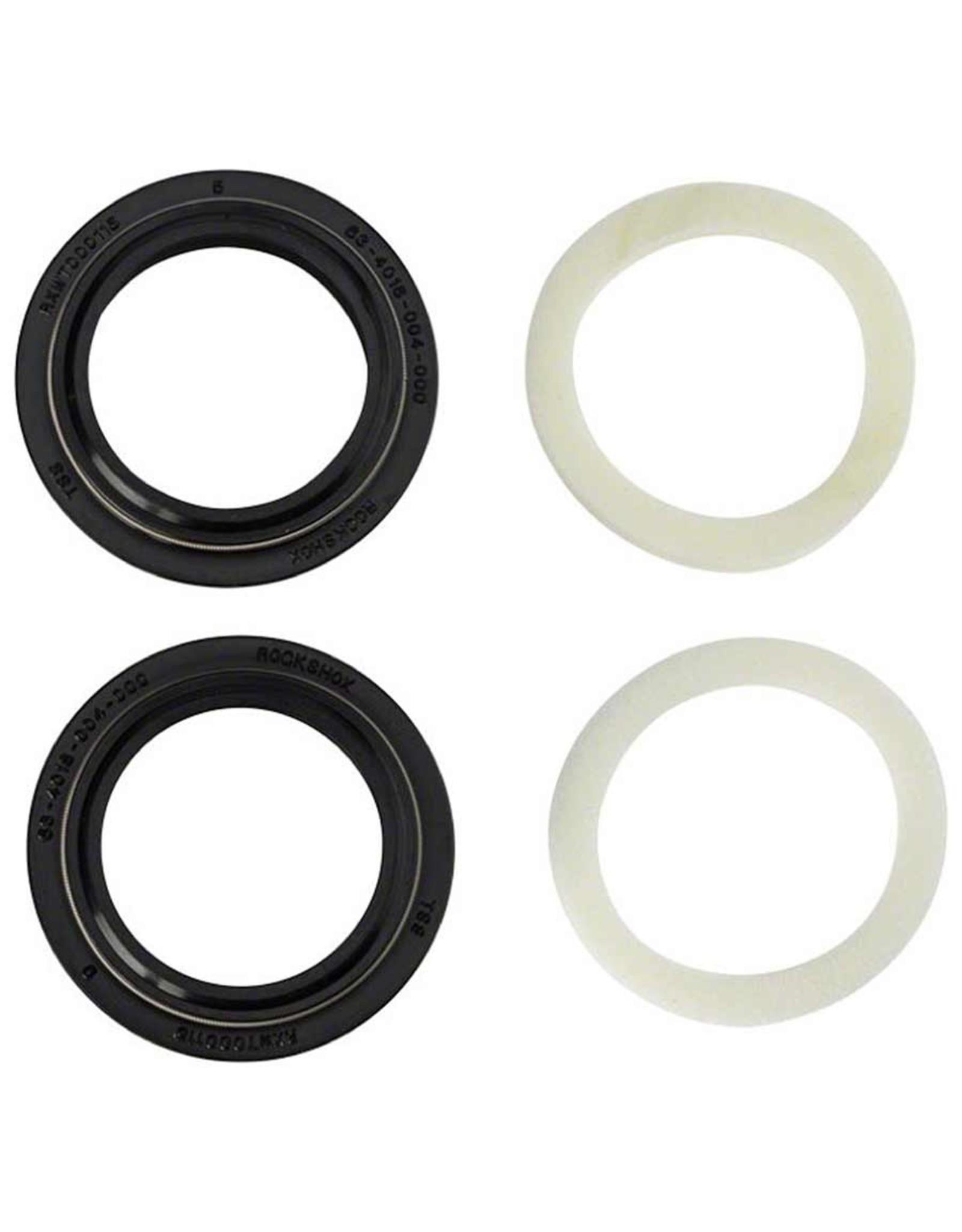 RockShox, 11.4018.028.001, Dust seal with foam ring, 32mm/ 5mm SID A1-A3 /Reba A2-A3