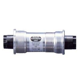 Shimano Shimano, EBB5500B18, BB-5500, Octalink, BB Shell: 68mm, Axle: 118.5mm, Steel, Silver